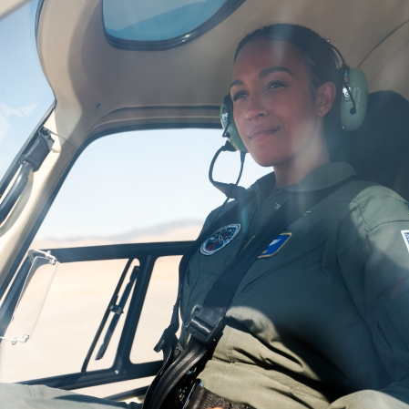 """Tawny Newsome as Angela Ali in """"Space Force."""" (Photo courtesy of Netflix)"""
