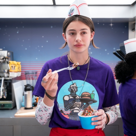 """Diana Silvers as Erin Naird in """"Space Force."""" (Photo courtesy of Netflix)"""