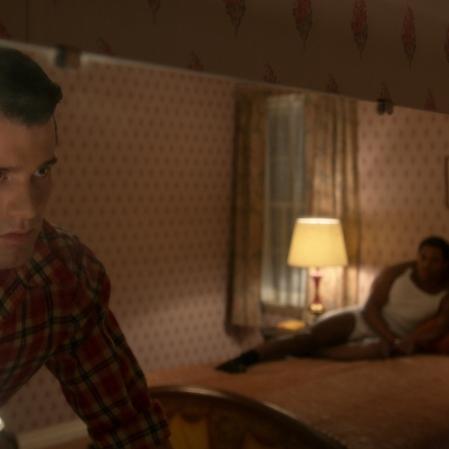 "Jake Picking as Rock in ""Hollywood."" (Photo courtesy of Netflix)"